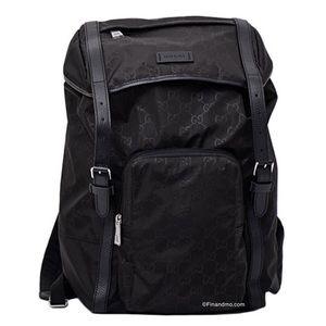 Gucci Mens GG Guccissima Backpack Rucksack Bag